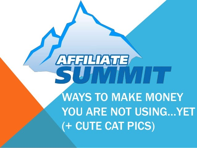 Ways To Make Money You Are Not Using…Yet (+ Cute Cat Pics)