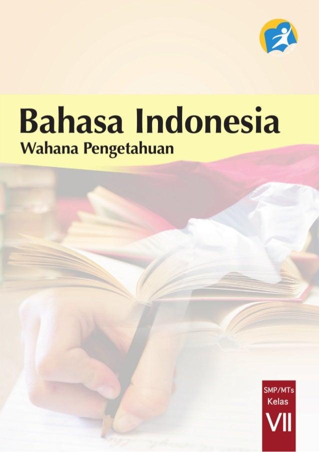 Bahasa IndonesiaWahana Pengetahuan i