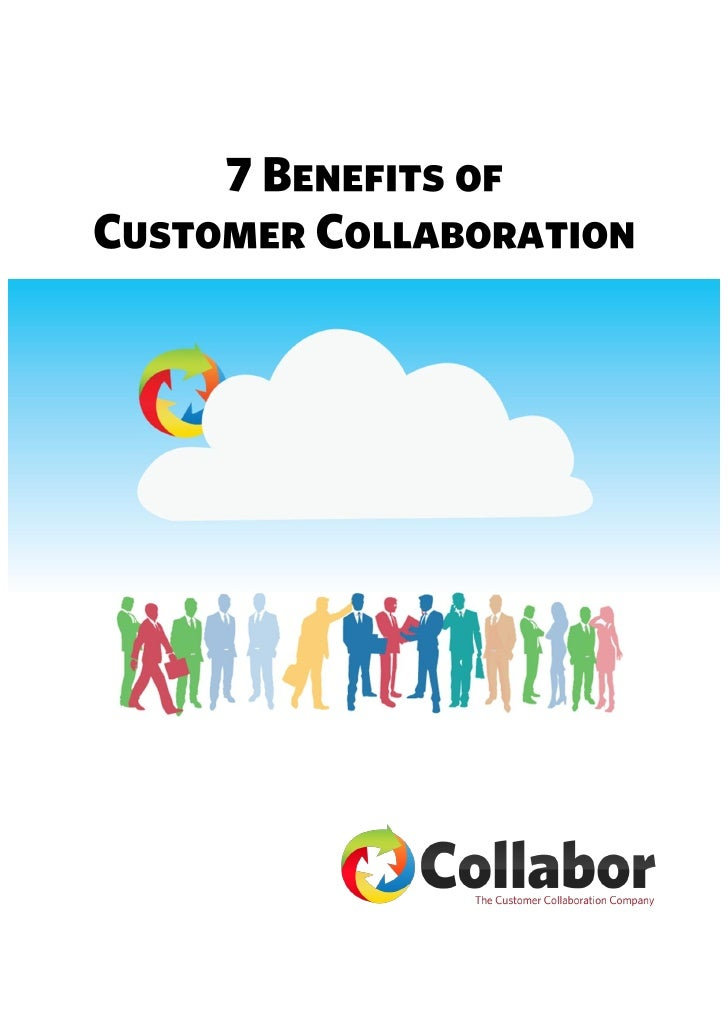 Collaborative Teaching Benefits ~ Benefits of customer collaboration