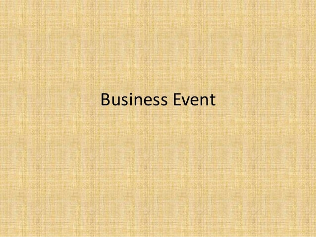 7, business event system