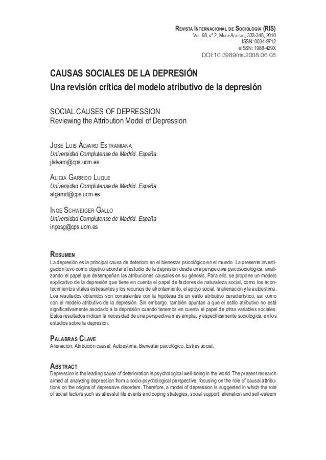 Revista Internacional de Sociología (RIS) Vol.68, nº 2, Mayo-Agosto, 333-348, 2010 ISSN: 0034-9712 eISSN: 1988-429X DOI:10...
