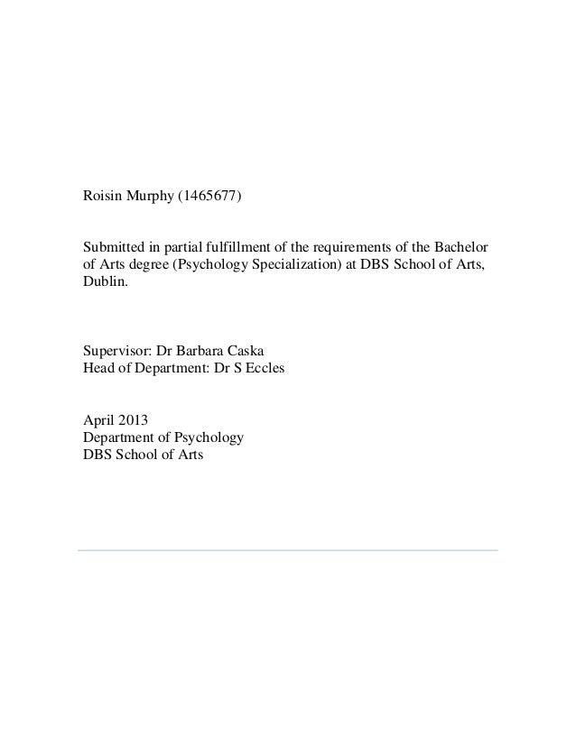 Dissertation school psychology assertiveness children