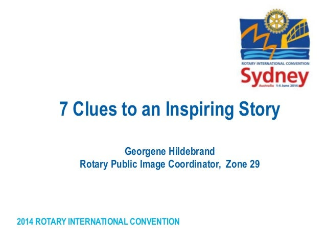 7 clues to an inspiring story sydney