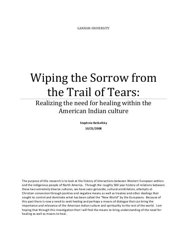 Cherokee removal essay