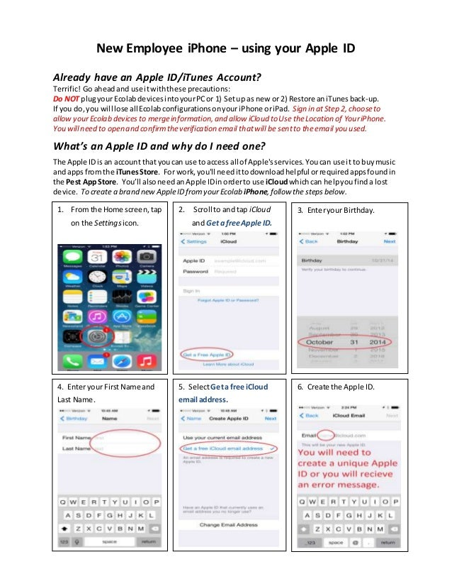 how to change your phone to a new apple id