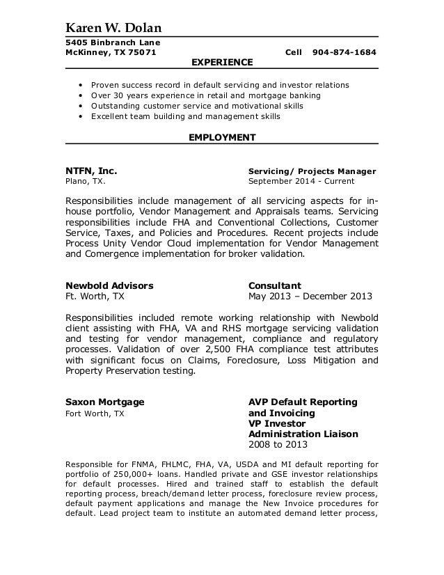 dolan s resume 2015