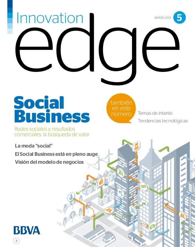 """Social Busines"" Innovation Edge Bbva"