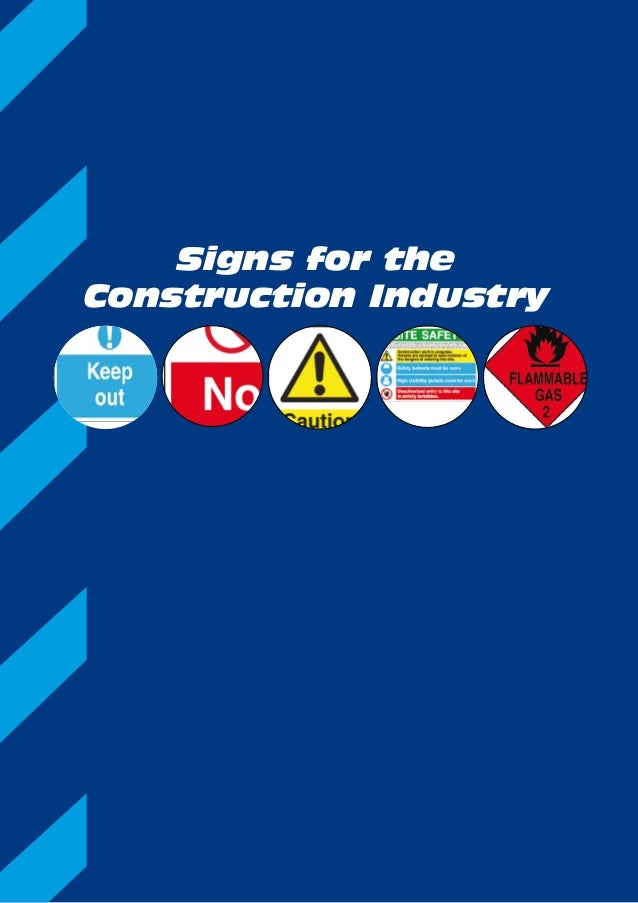 Signs for the Construction Industry
