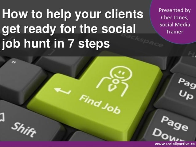 Presented byHow to help your clients      Cher Jones,                             Social Mediaget ready for the social    ...