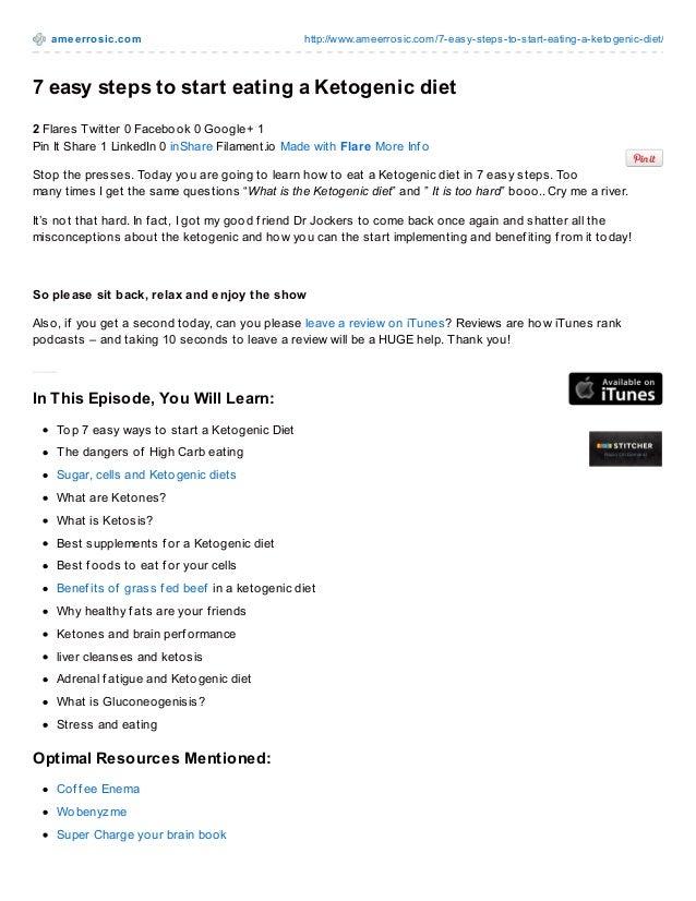 am e e rro sic.co m  http://www.ameerro sic.co m/7-easy-steps-to -start-eating-a-keto genic-diet/  7 easy steps to start e...