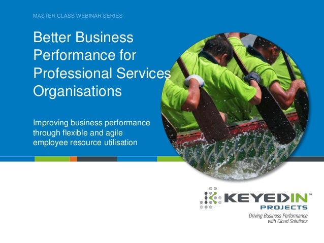 Improving business performance through flexible and agile employee resource utilisation