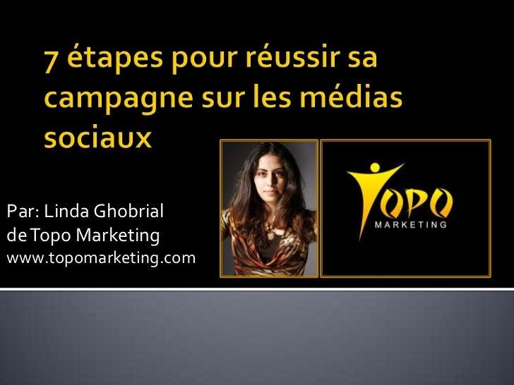 Par: Linda Ghobrialde Topo Marketingwww.topomarketing.com