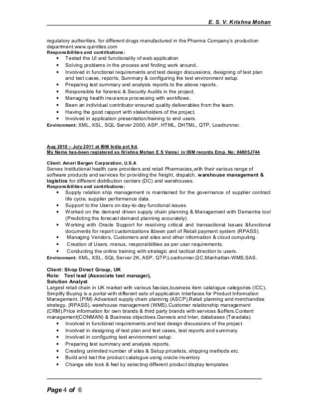 resume writing for pharmaceutical companies