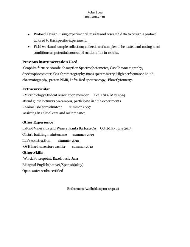 resume temp