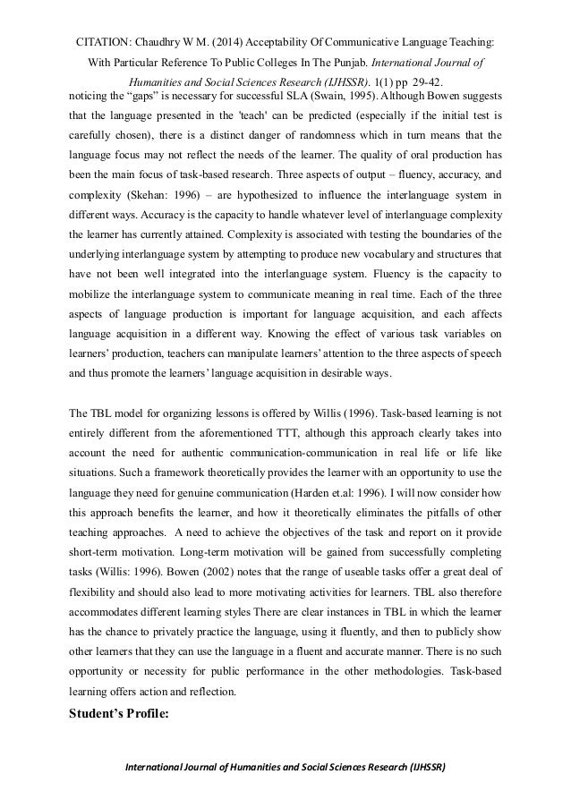 example of a essay paper