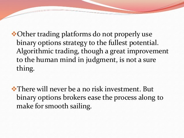 4 options binary trading platform scripts