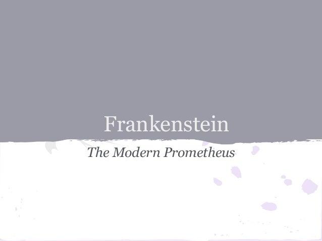 great thesis statement frankenstein