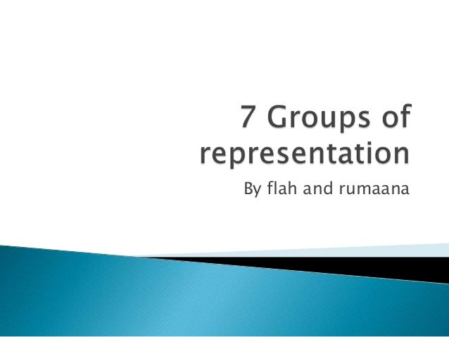 7 groups of representation