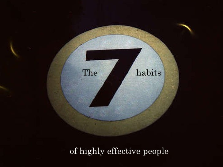 [Book];[7 habits of successful people]