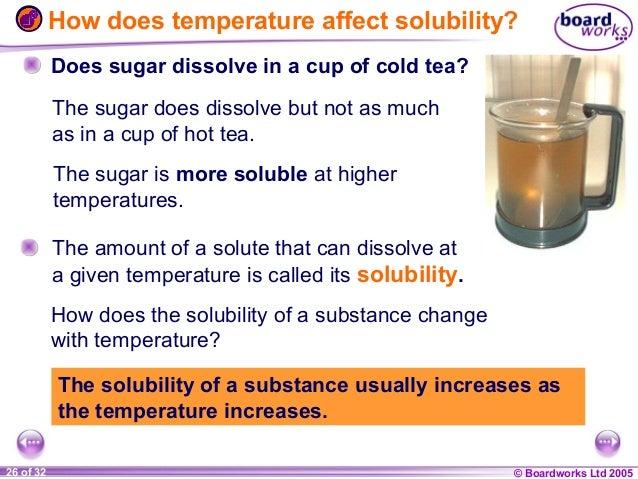 Dissolving Sugar in Tea Does Sugar Dissolve in a Cup