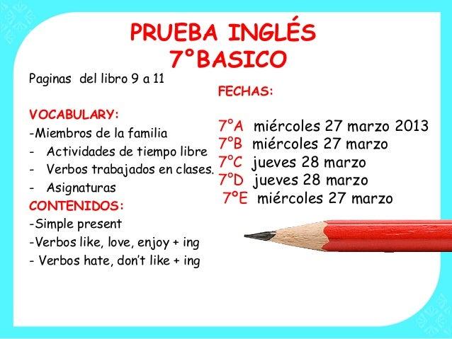 7 ingles 2013