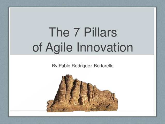 The 7 Pillars of Agile Innovation By Pablo Rodriguez Bertorello
