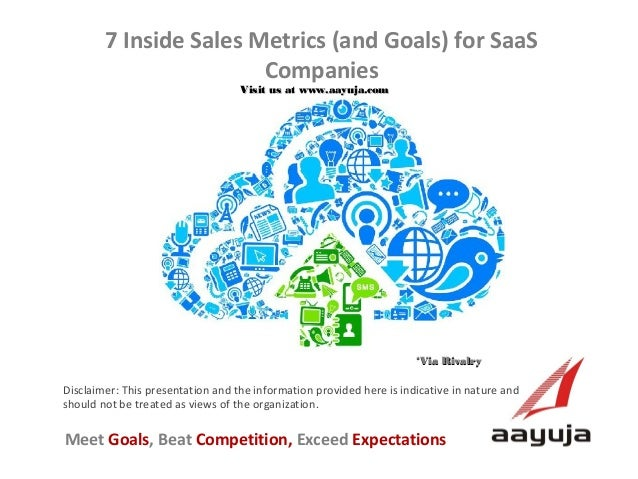 7 Inside Sales Metrics (and Goals) for SaaS Companies