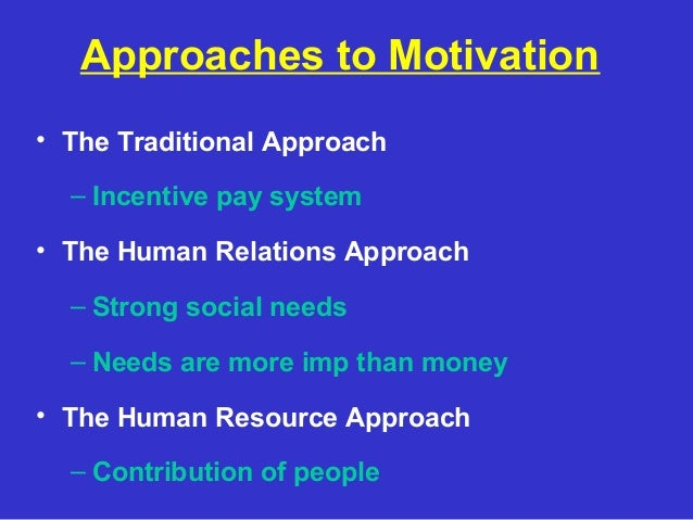 seven approaches to motivation Motivation to point out that cooperative-learning and reward structures are consistent with the constructivist approach discussed in chapters 1, 2.