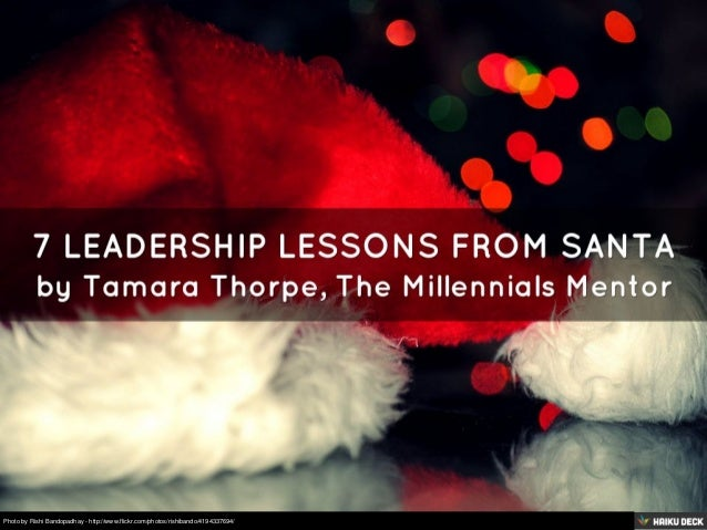 7 Leadership Lessons from Santa