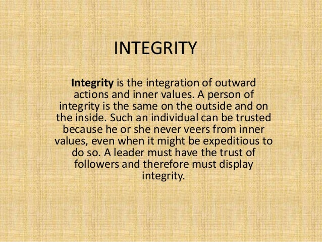 leadership traits judgment and integrity of Judgment is just one of the fourteen leadership traits that build a strong foundation for being an excellent leader.