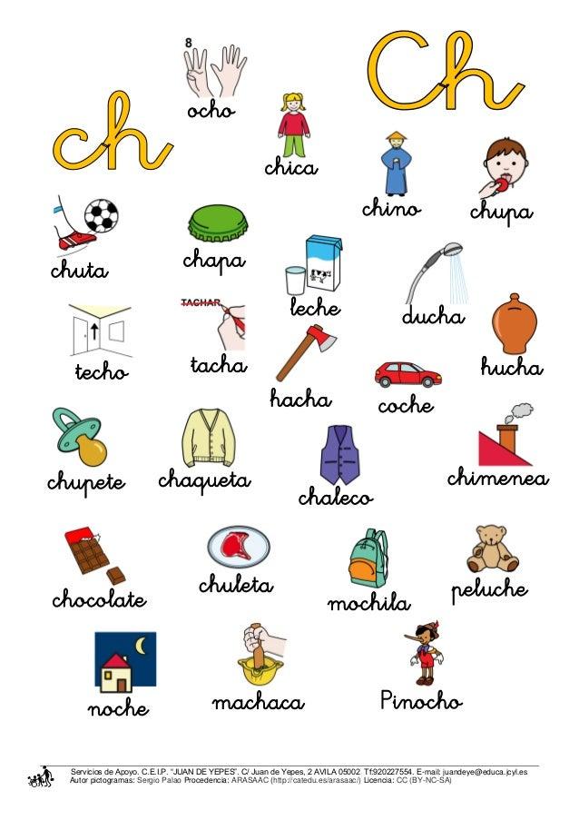 Palabras Con Letra Ch Newhairstylesformen2014 Com