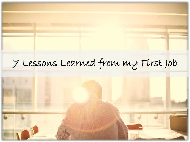 Lessons Learned From Living Alone