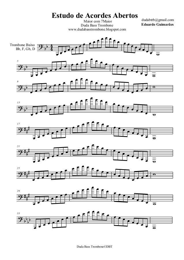    Trombone Baixo Bb, F, Gb, D                            5               ...