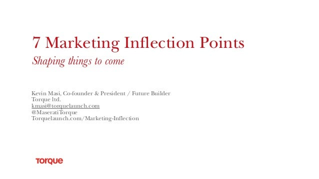 7 marketing inflection points