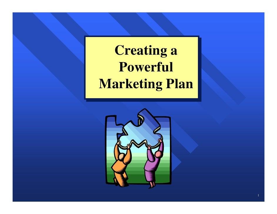 7 marketing plan