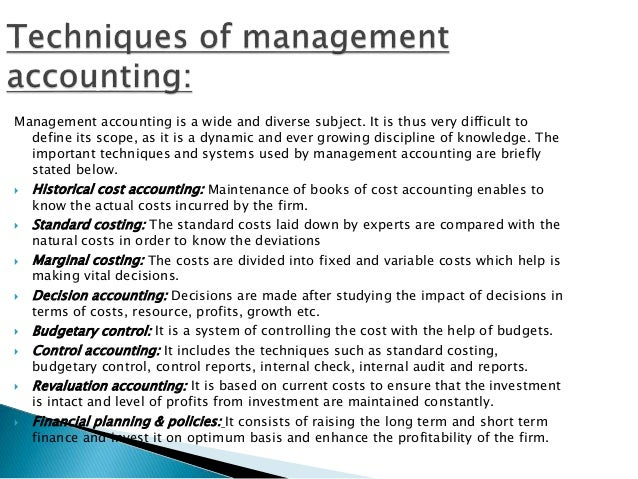 management accounting planning controlling and decision making