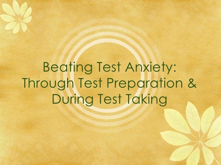 RETA NMTA Test Anxiety PPT
