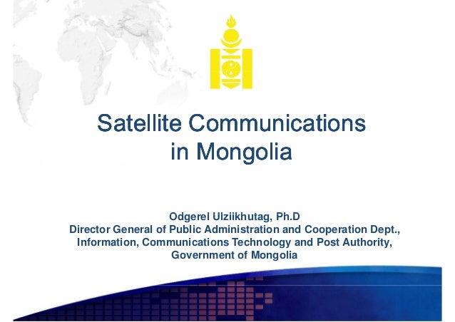 Satellite Communications in Mongolia