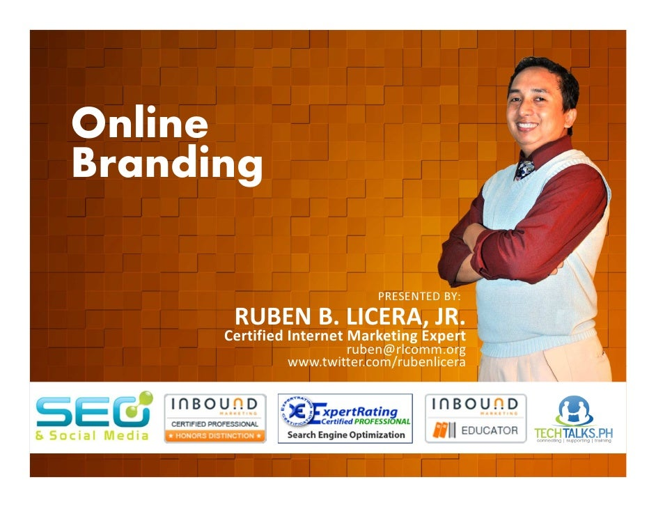 Online        Branding         EVENT ORGANIZED BY                                                    PRESENTED BY:        ...
