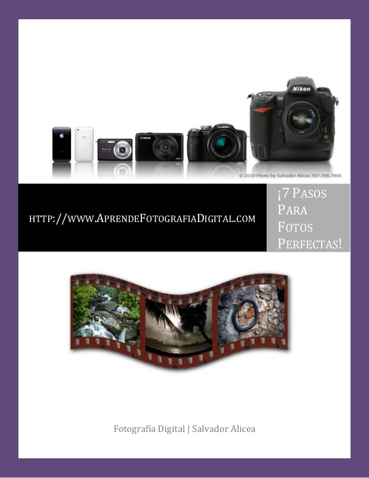 ¡7 PASOS                                                     PARAHTTP://WWW.APRENDEFOTOGRAFIADIGITAL.COM                  ...