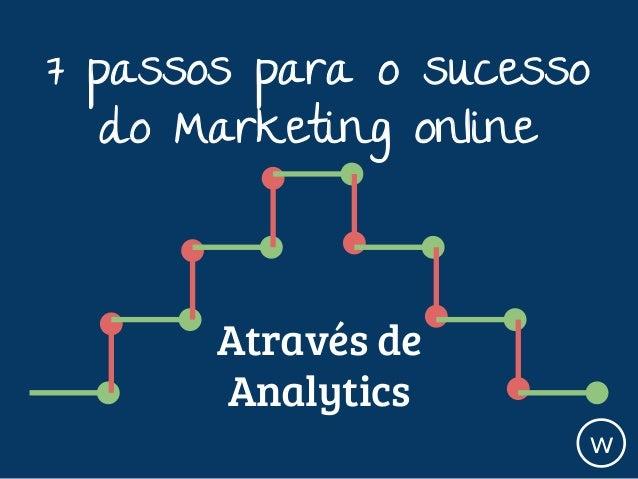 7 passos para o sucesso do Marketing online w Através de Analytics