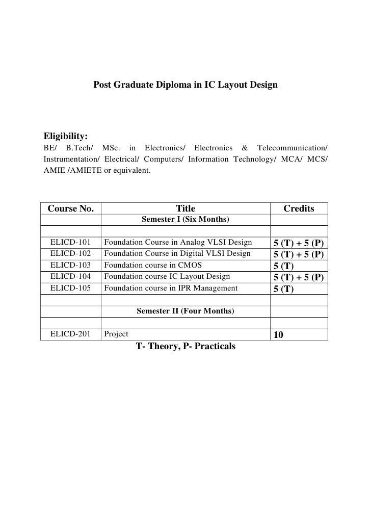 7 pg diploma ic layout design
