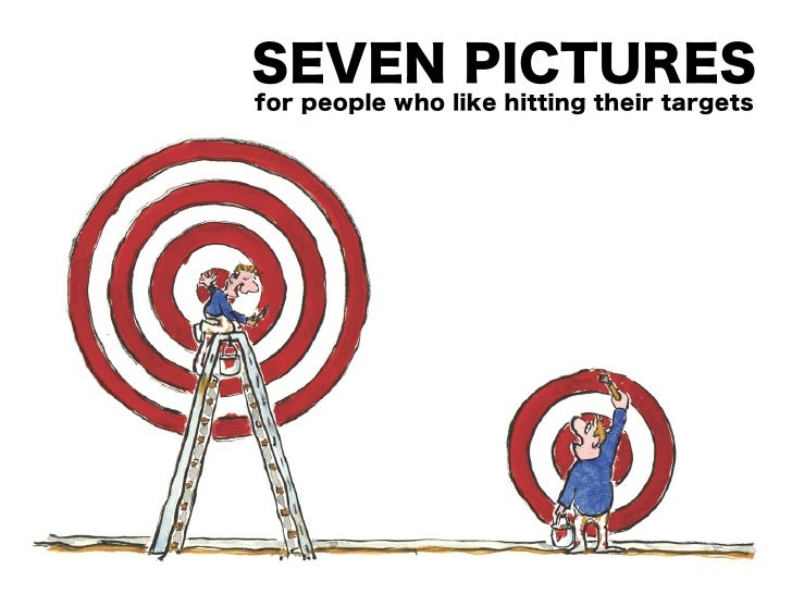 Seven Pictures for People Who Like Hitting Their Targets!