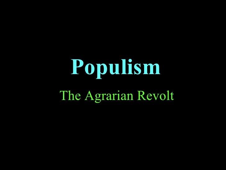 7 populism