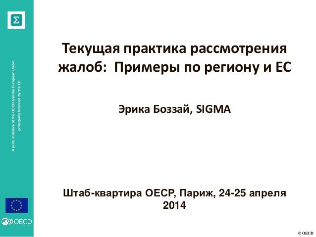 7 Current Practices in Complaints Review: Examples from the Region and the EU_Russian