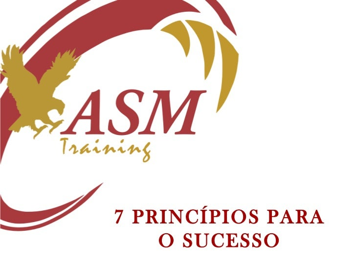 7 PRINCÍPIOS PARA    O SUCESSO
