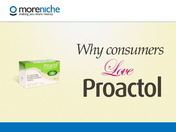 Proactol Afiliate Presentation