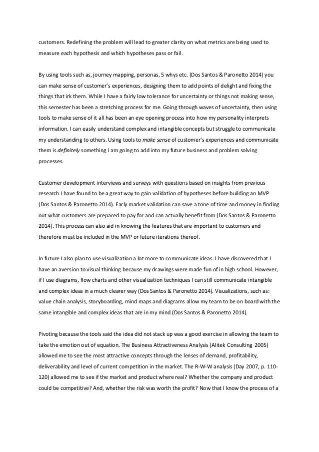 life experience essay ideas