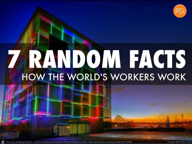 7 Random Facts About How the World's Workers Collaborate