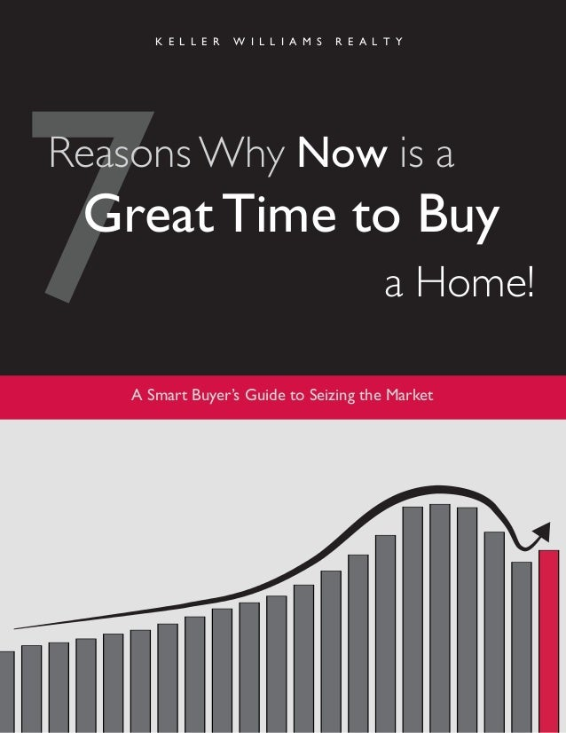 K E L L E R W I L L I A M S R E A L T Y A Smart Buyer's Guide to Seizing the Market 7Reasons Why Now is a Great Time to Bu...